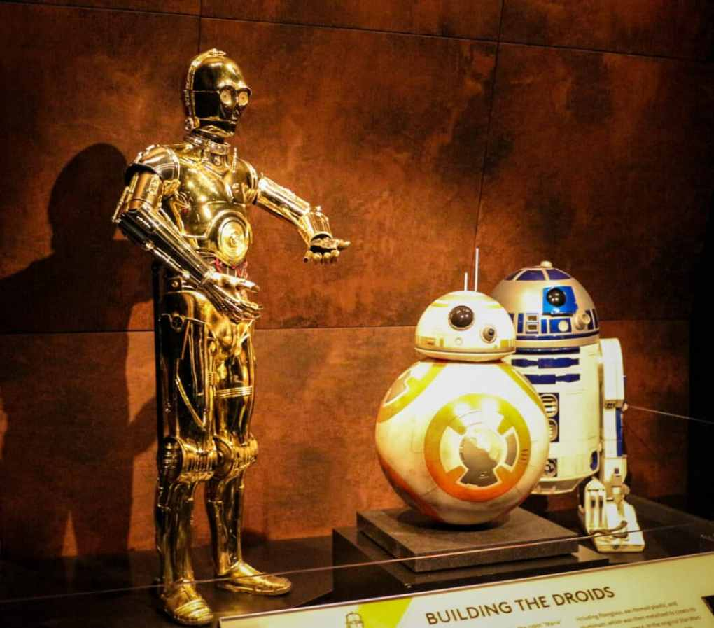 The Droids exhibit