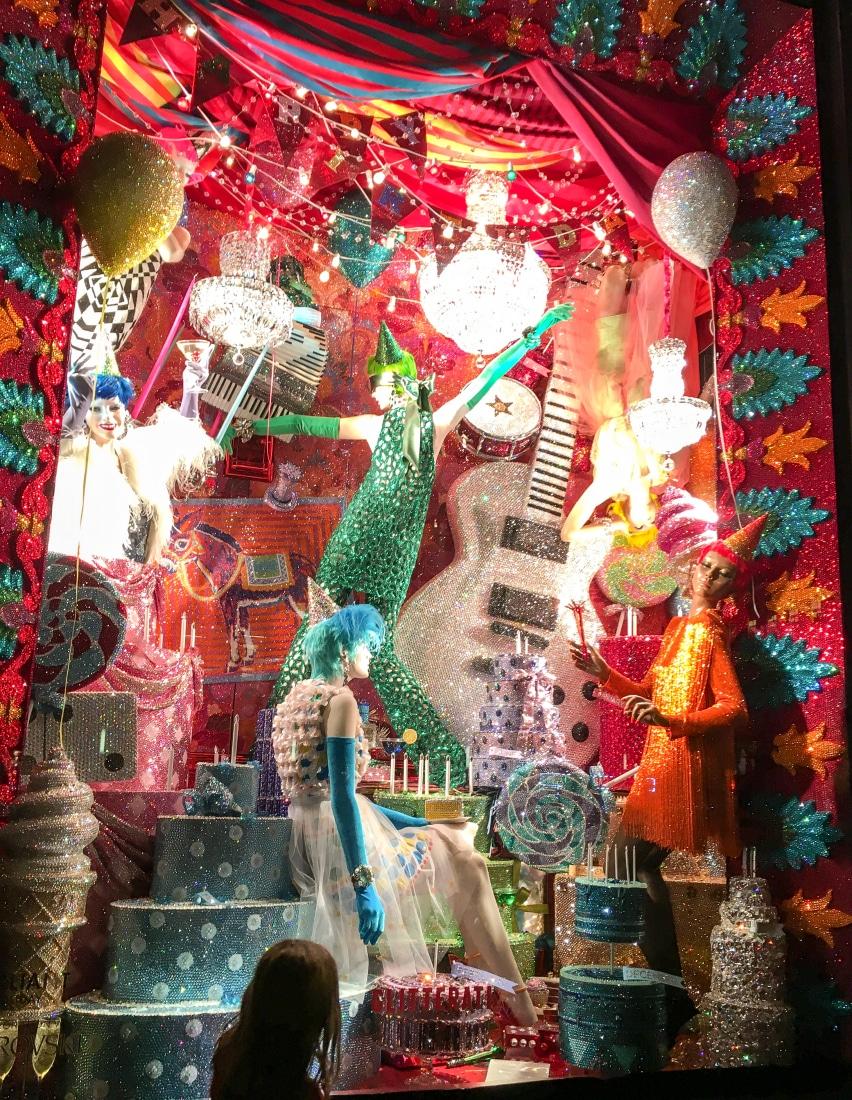 Bergdorf Goodman display