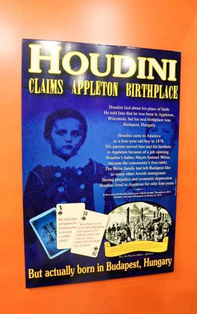 Houdini Museum Appleton WI