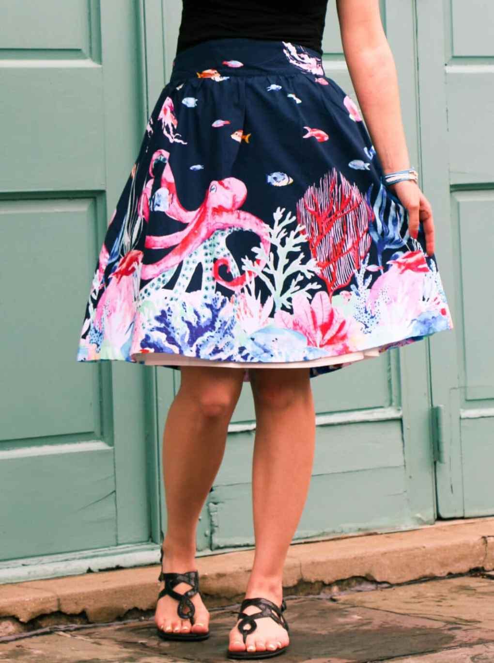 ModCloth under the sea skirt