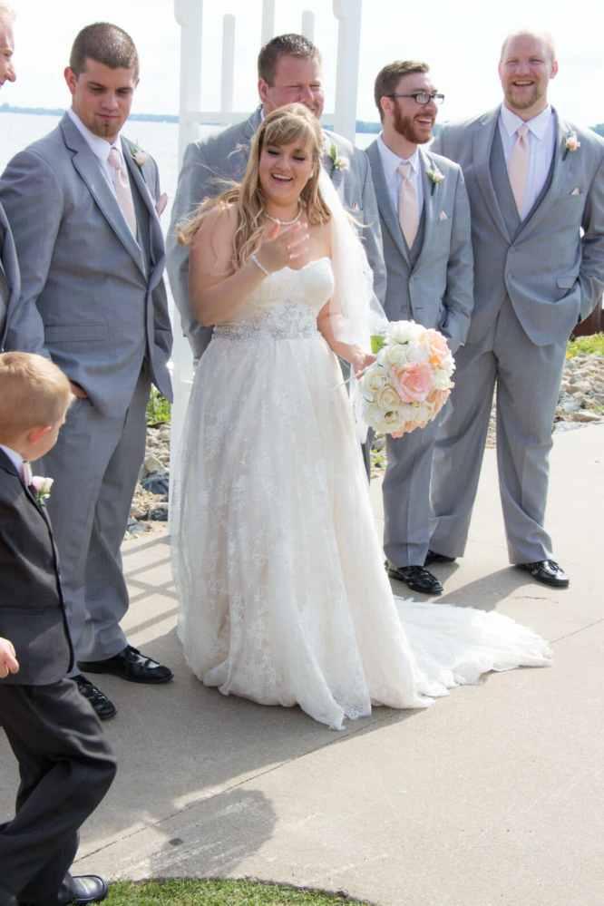 Mandie's wedding
