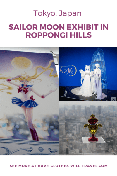 Sailor Moon Exhibit in Roppongi Hills
