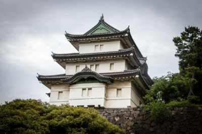 Fujimi-yagura (Mt Fuji-view keep), guard building within the inner grounds of the Imperial Palace