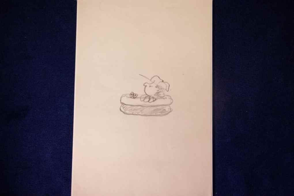 pePeanuts preliminary sketches