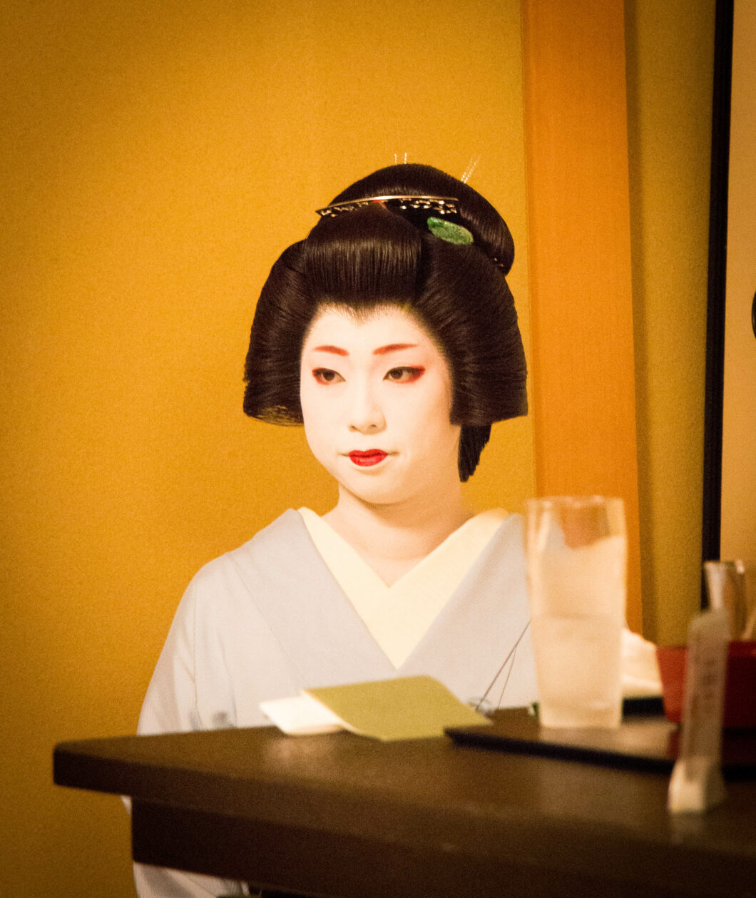 A Geisha at Gion Hatanaka