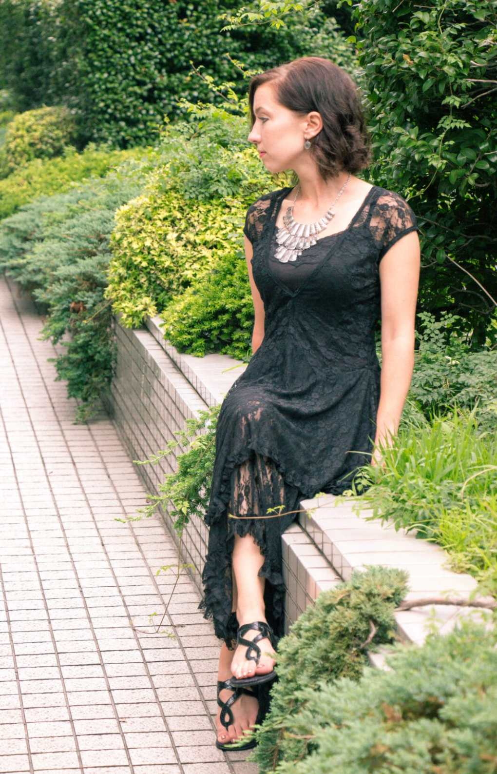 Chic lover boho lace dress