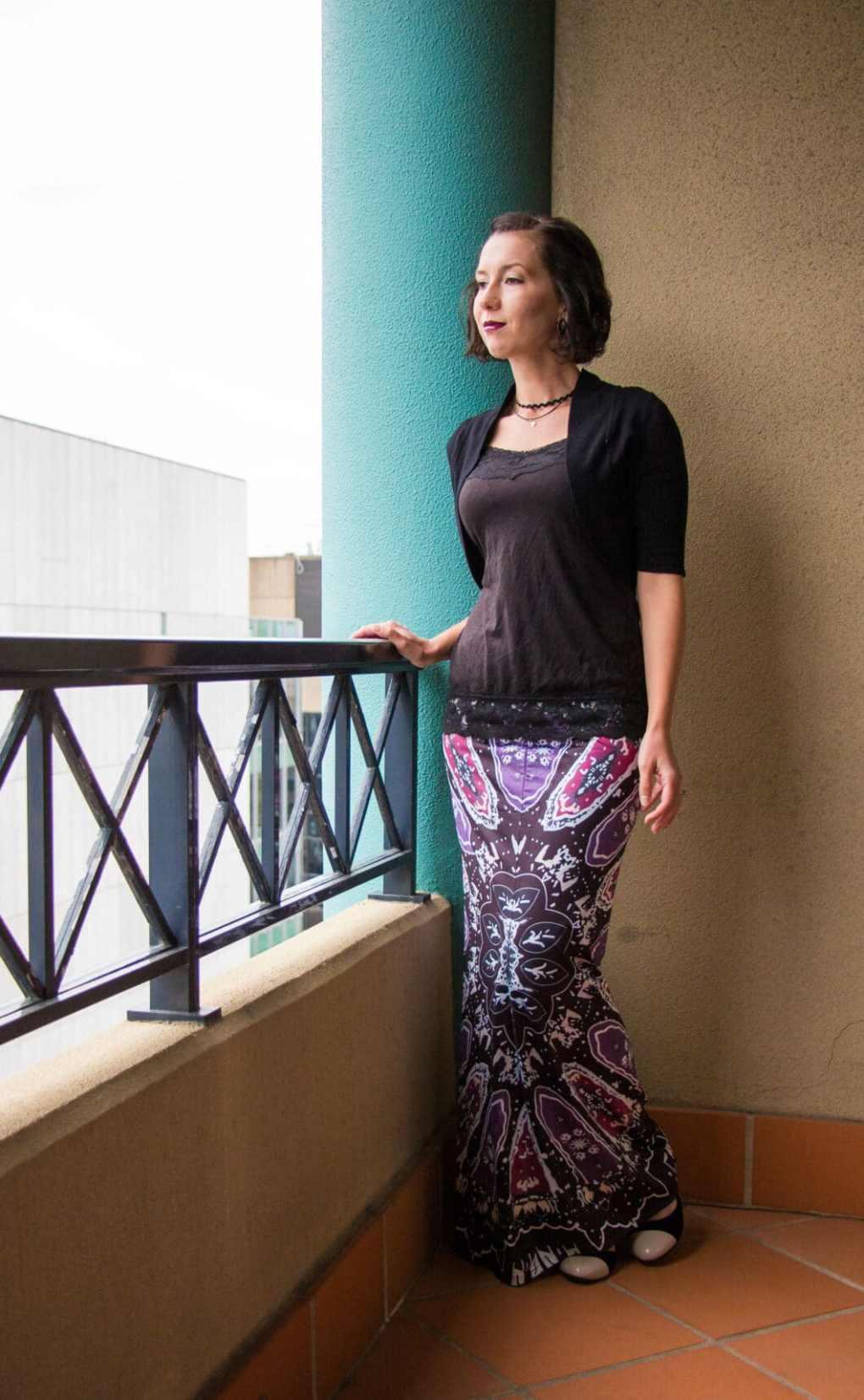 Zaful maxi skirt