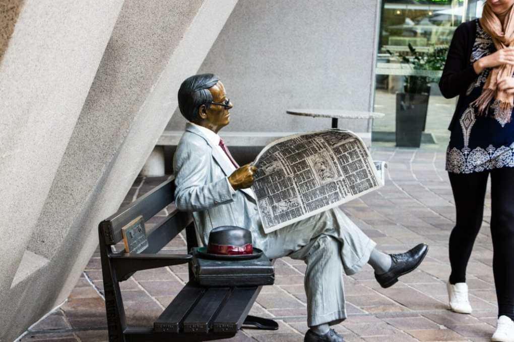 waiting statue sydney