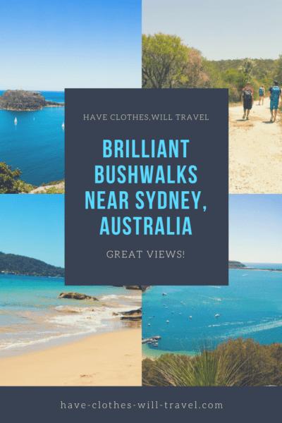 bushwalking in Sydney, Australia
