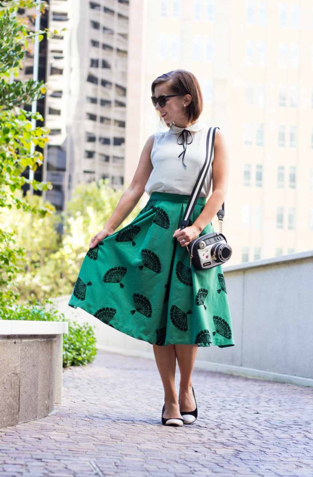 tatyana boutique fan skirt