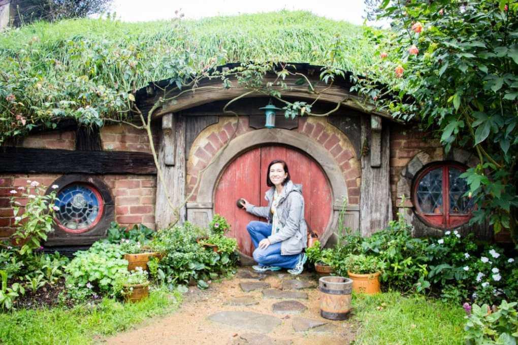 A Hobbit home in New Zealand