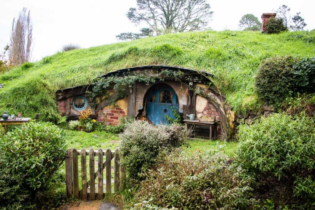 Hobbit Hole in New Zealand