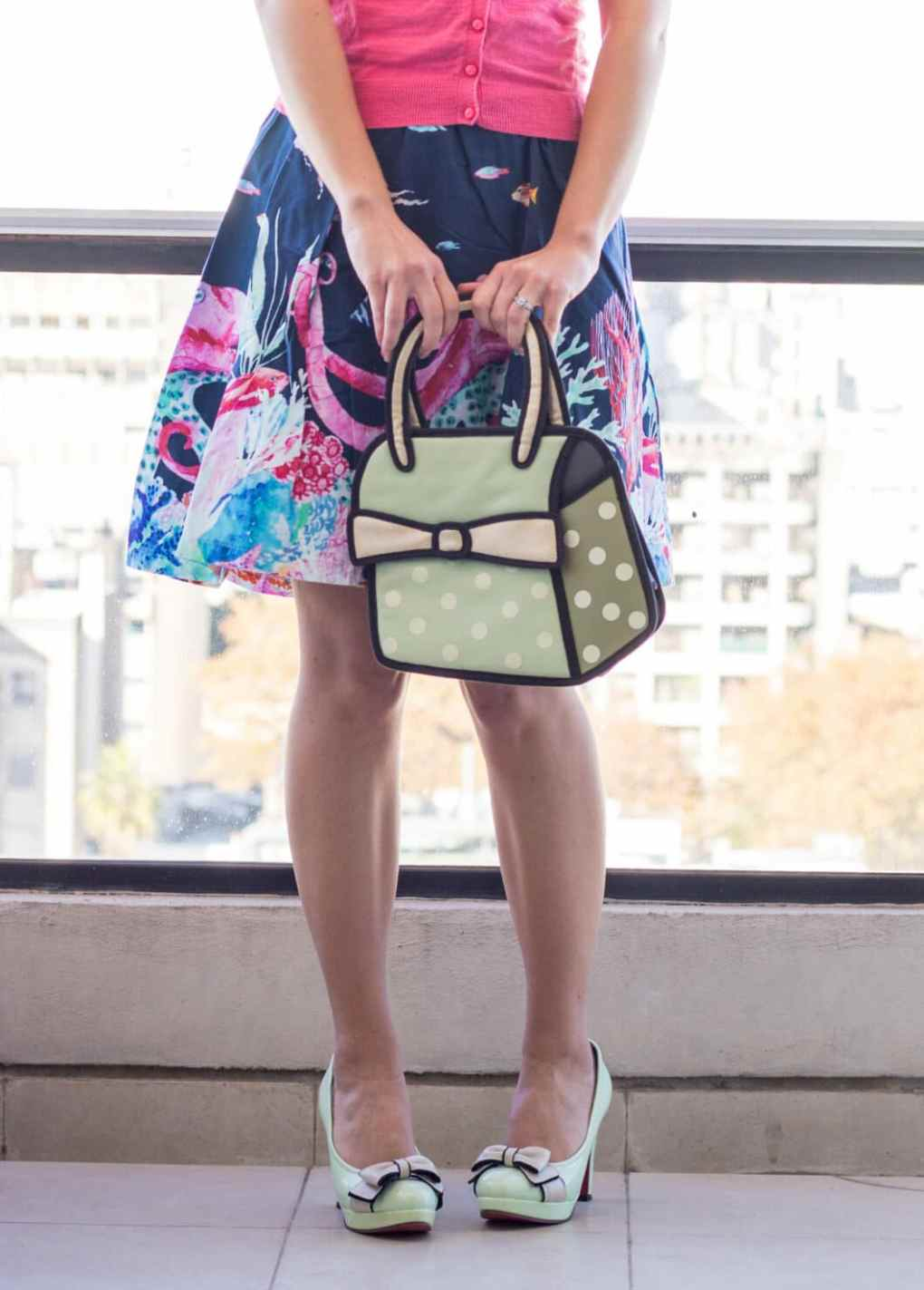 JumpFromPaper bag and matching shoes