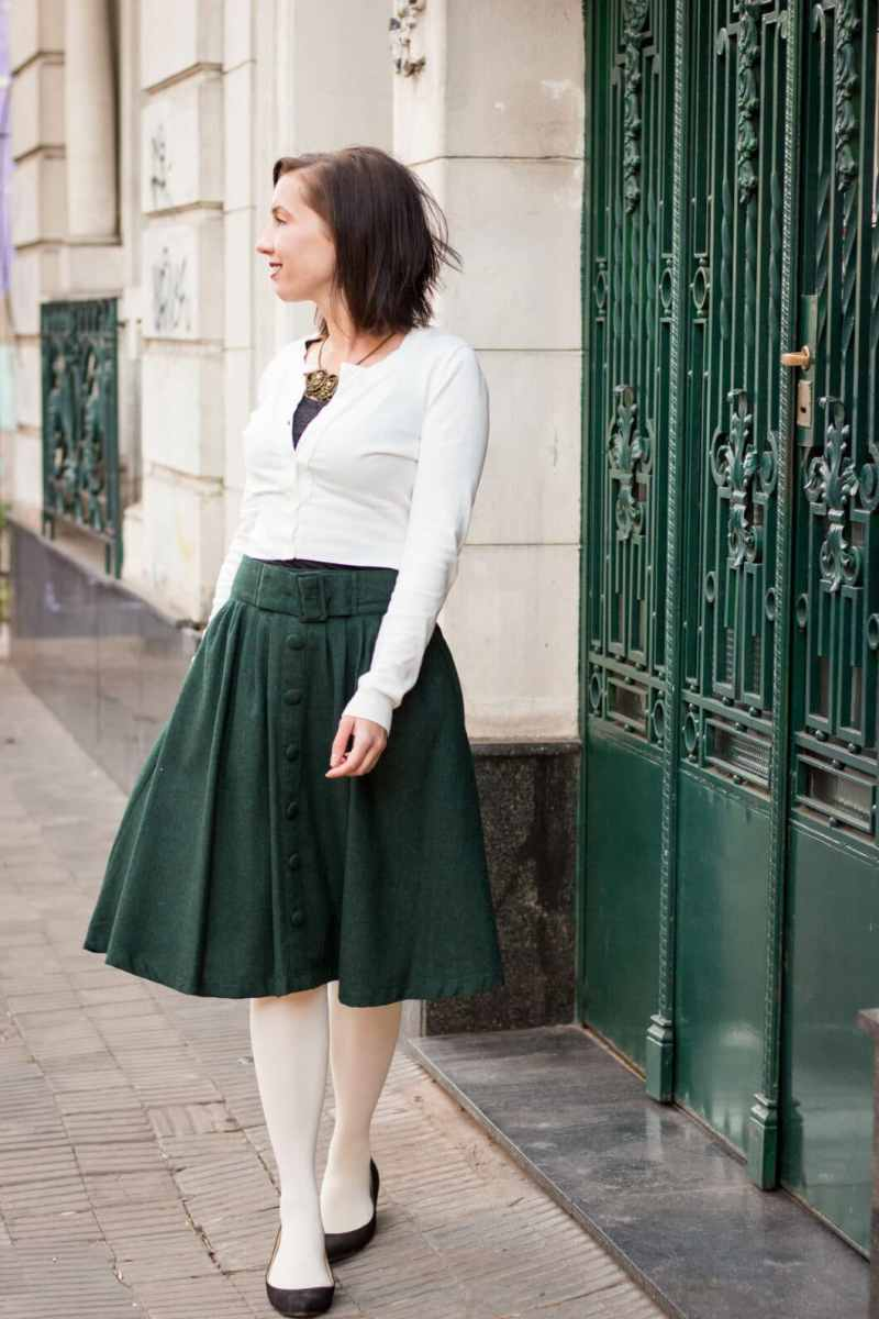 A Marvelous Midi Skirt