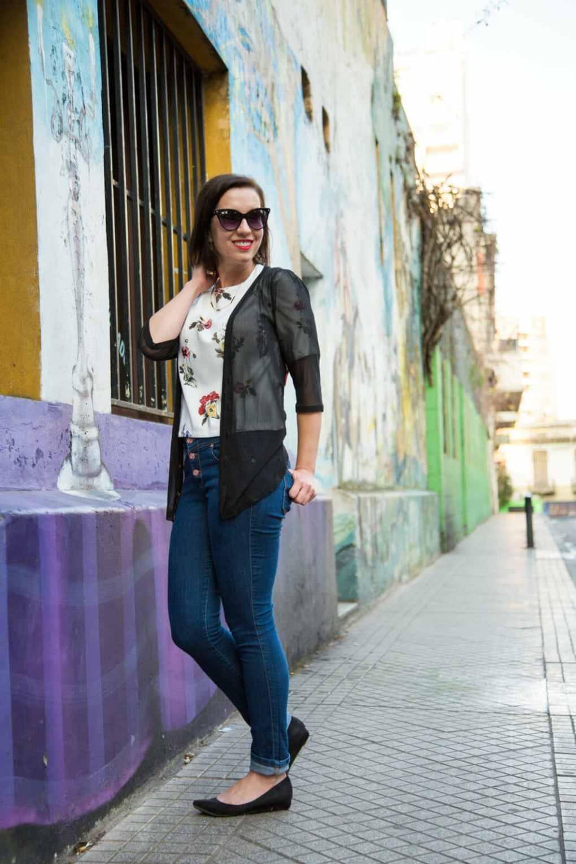 VIPshop cardigan & Judy Blue Jeans