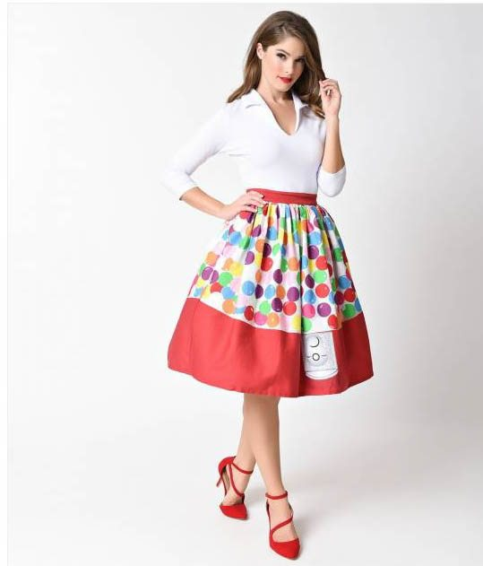 gumball machine skirt