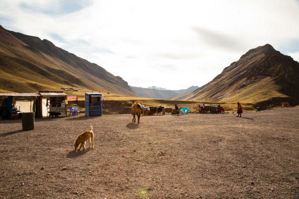 Rainbow Mountain Peru Entrance