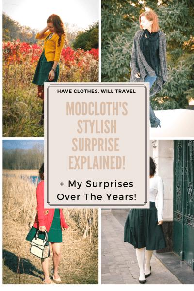 ModCloth's Stylish Surprise Explained