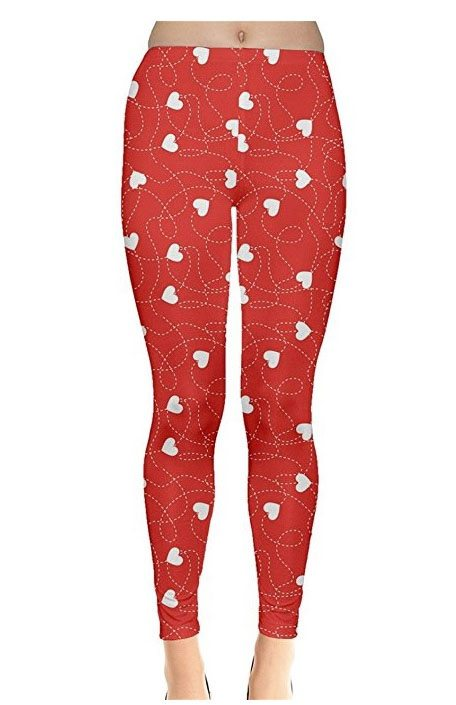 heart leggings