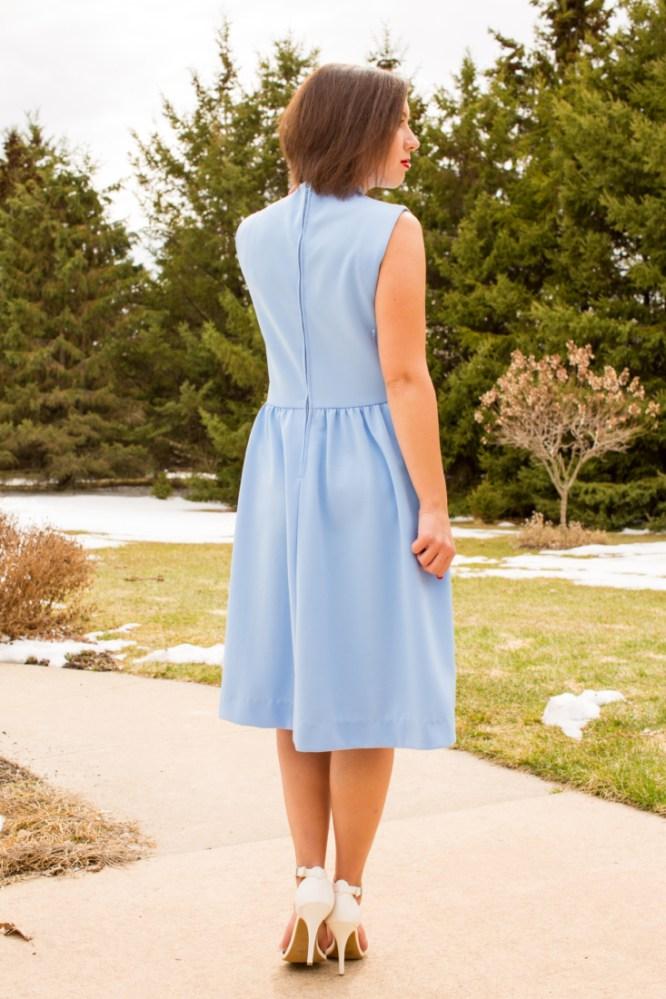 vintage dress shopping