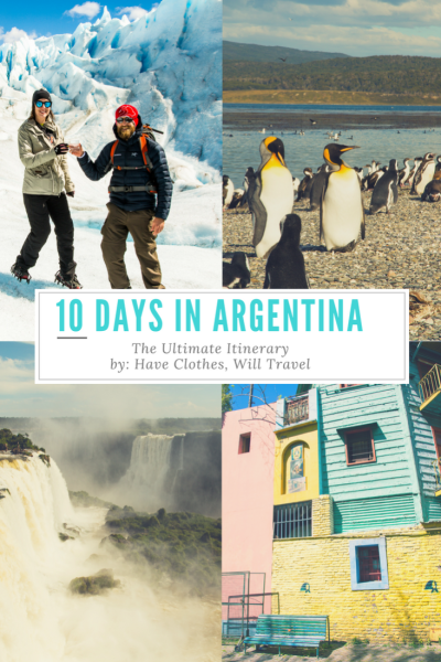 how to spend 10 days in Argentina