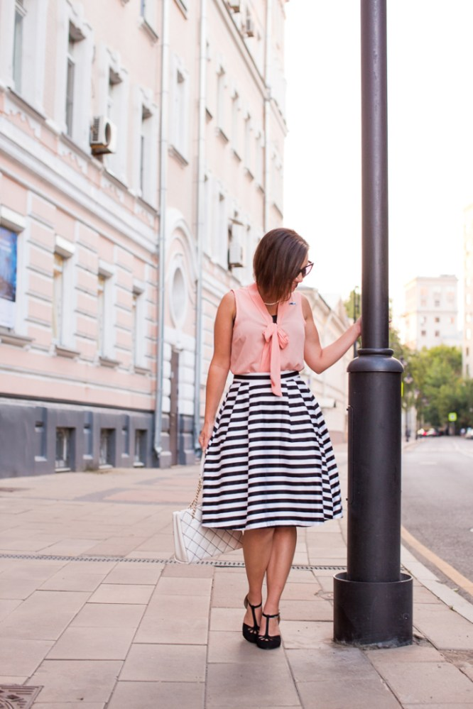 stripes outfit