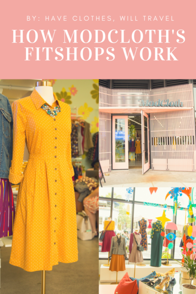 How ModCloth's FitShops Work