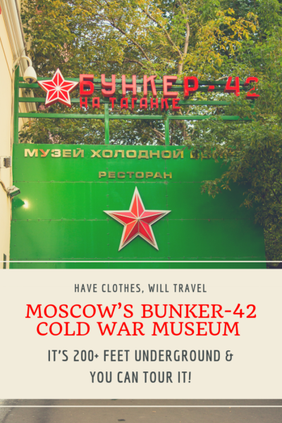 Moscow's Bunker-42 Cold War Museum (It's 200+ Feet Underground!)