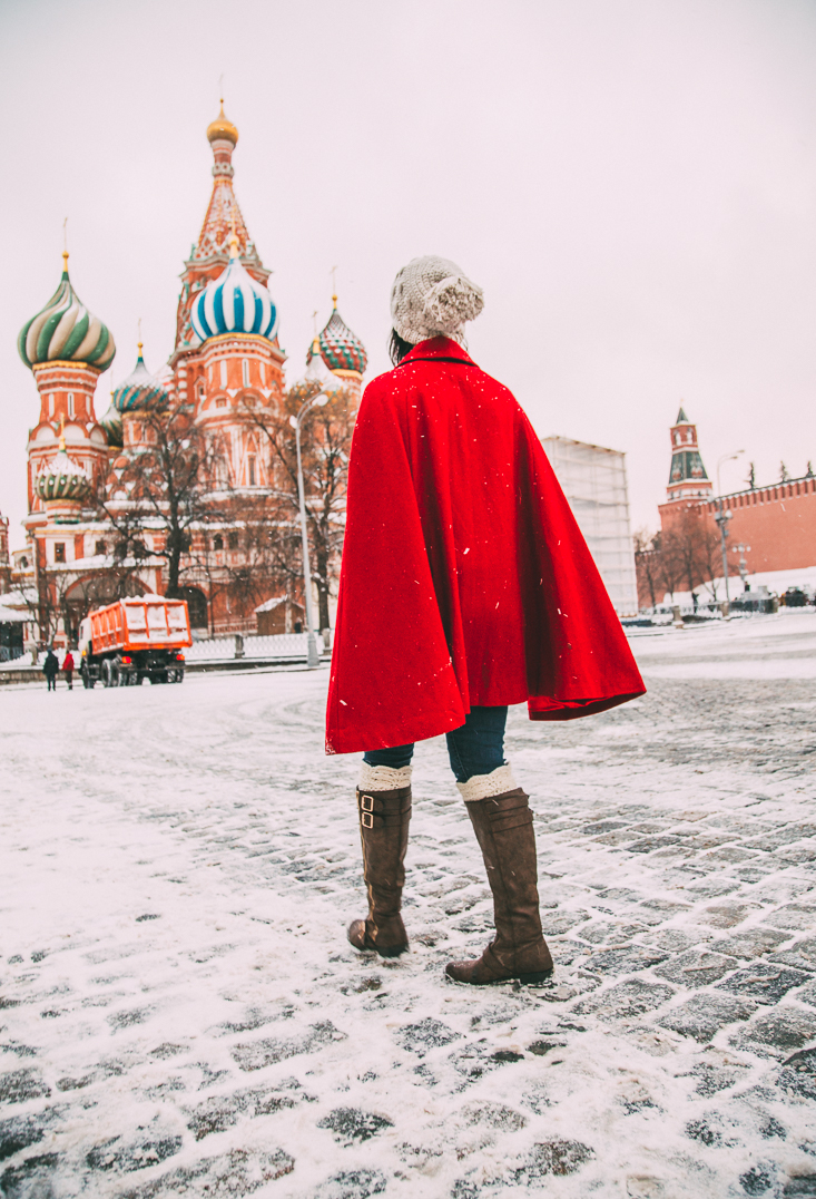 Red Square at Christmastime