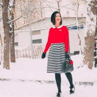 ModCloth x Hello Kitty outfit