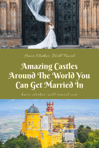 Amazing Castles Around The World You Can Get Married In