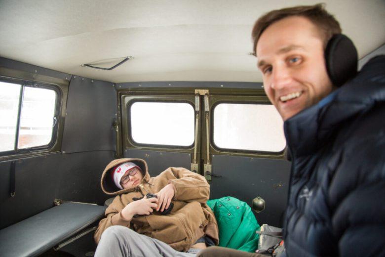 Put-in Tours Soviet Van