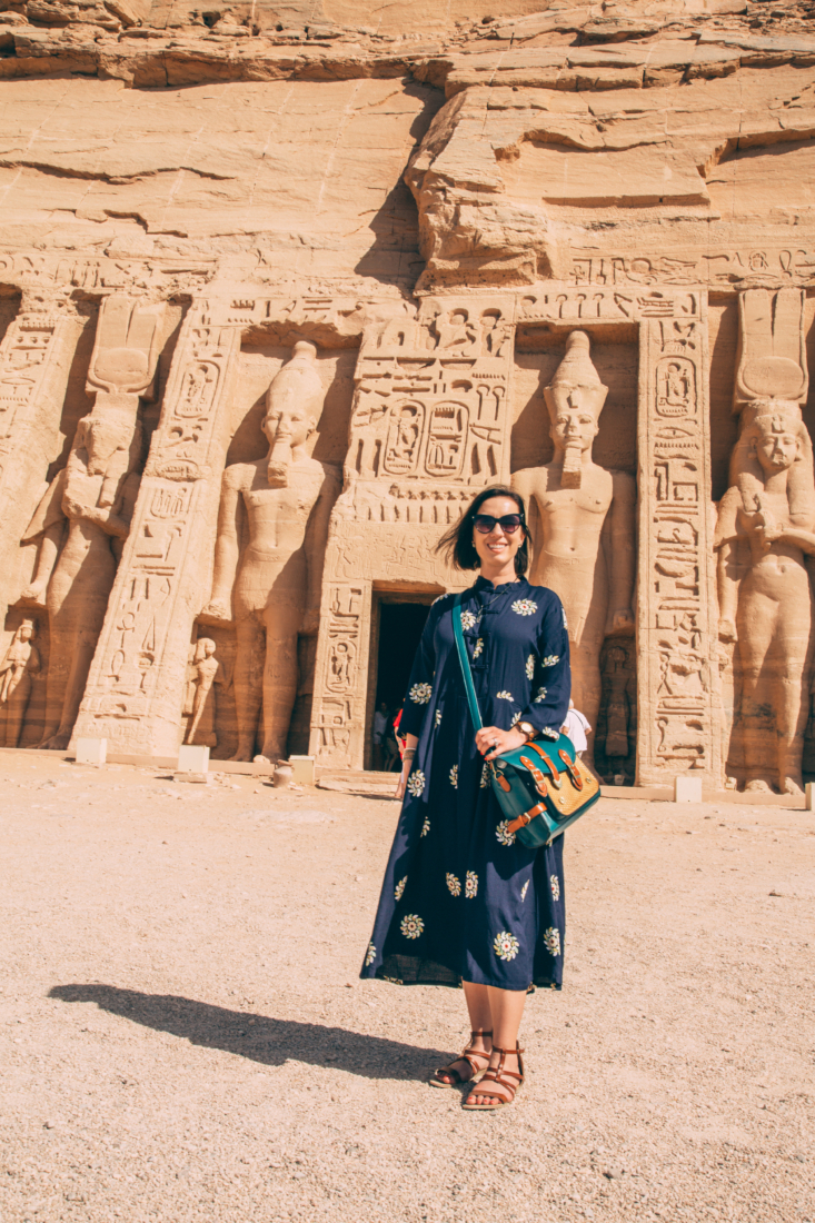 Outfit idea for Abu Simbel