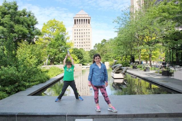St. Louis, Missouri:  Citygarden