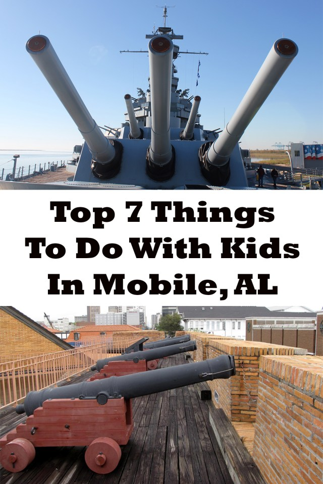 Top 7 Things to do Mobile, Alabama with Kids