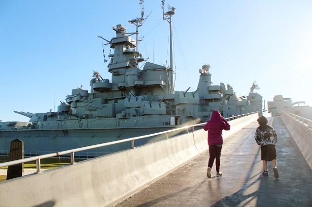 USS Alabama Battleship Memorial Park in Mobile, AL
