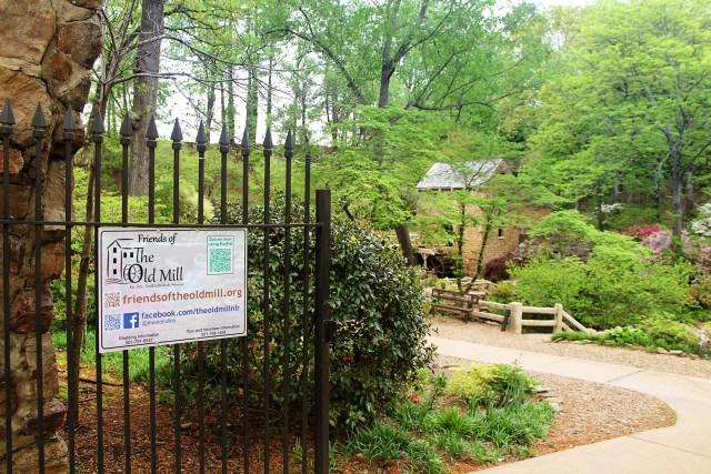 The Old Mill at T.R. Pugh Memorial Park in Little Rock, Arkansas