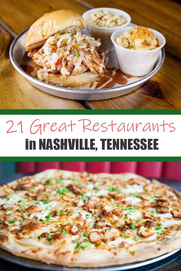 21 {{MORE}} Great Places to Eat & Drink in Nashville