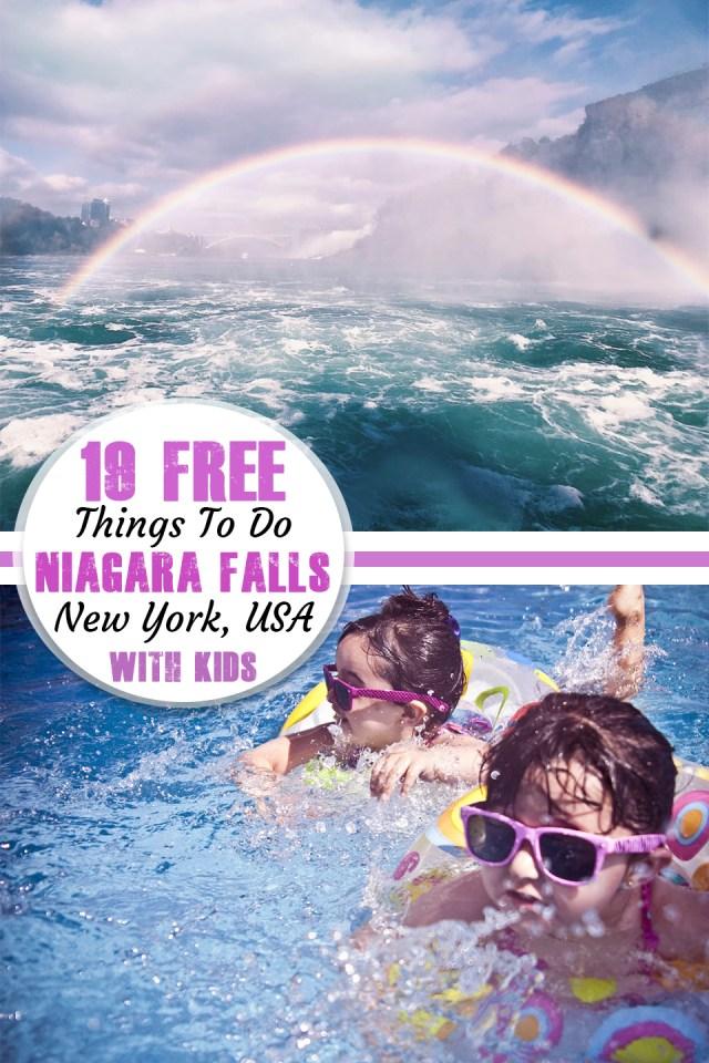 19 Free Things to do at Niagara Falls (New York, USA) - have-kids