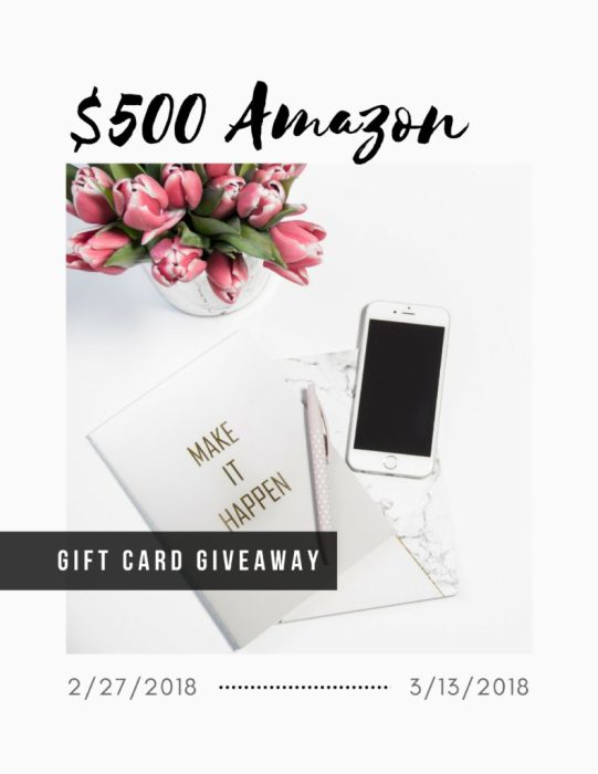 Life + a $500 Amazon Gift Card Giveaway