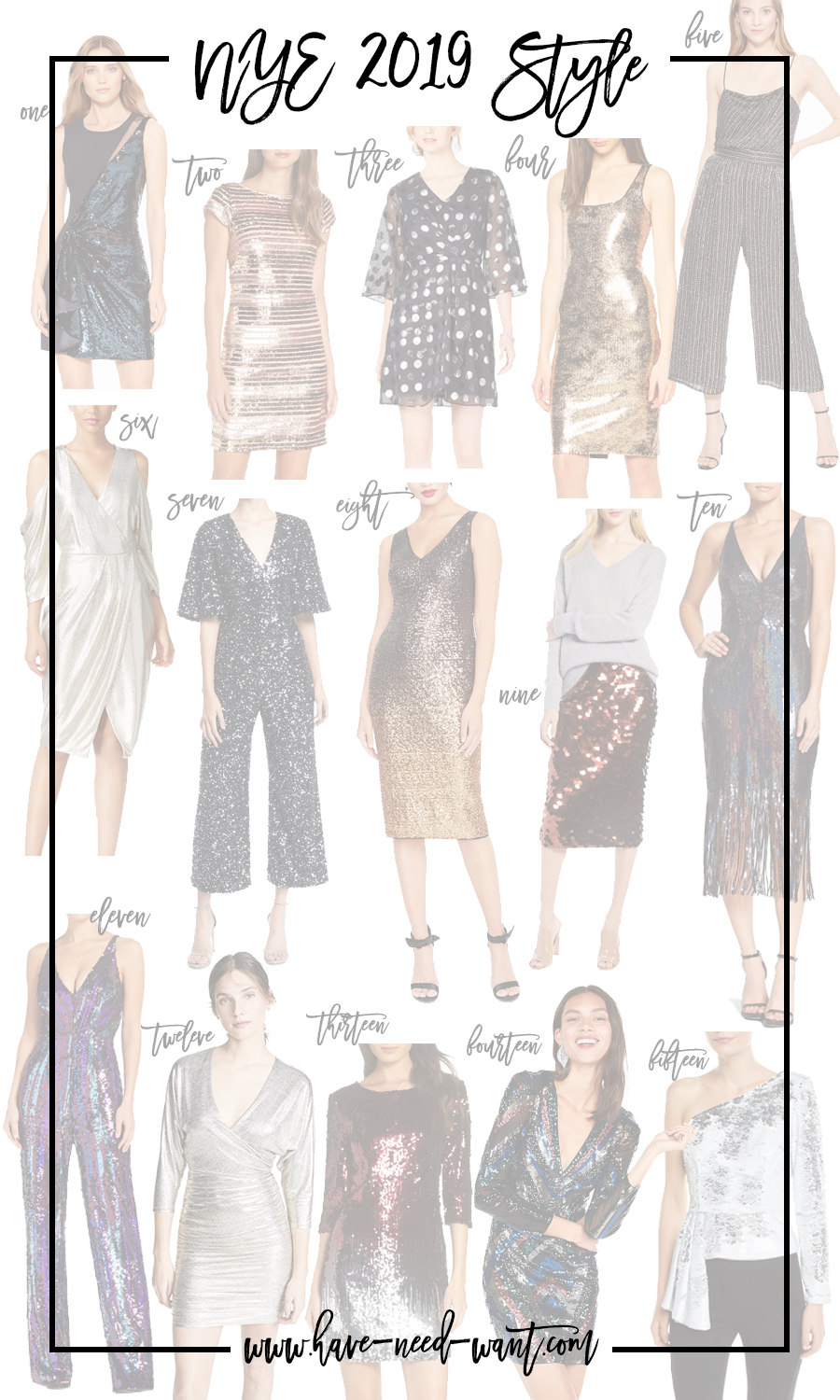 15 Fabulous NYE Outfit Ideas to Help You Ring in the New Year in Style   Have Need Want #NYEDress #NYEOutfits #NYEStyle #NewYearEve2019