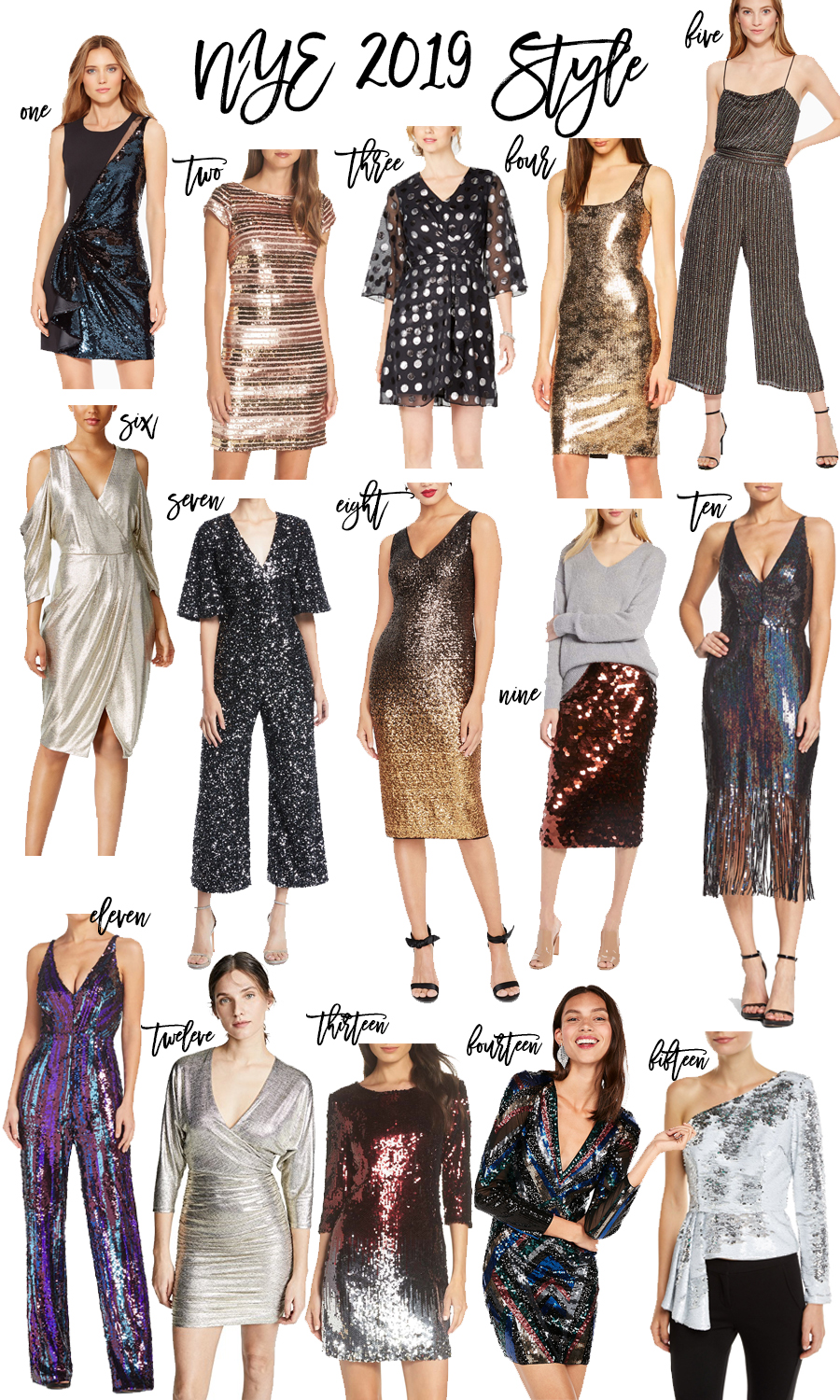 15 Fabulous NYE Outfit Ideas to Help You Ring in the New Year in Style | Have Need Want #NYEDress #NYEOutfits #NYEStyle #NewYearEve2019
