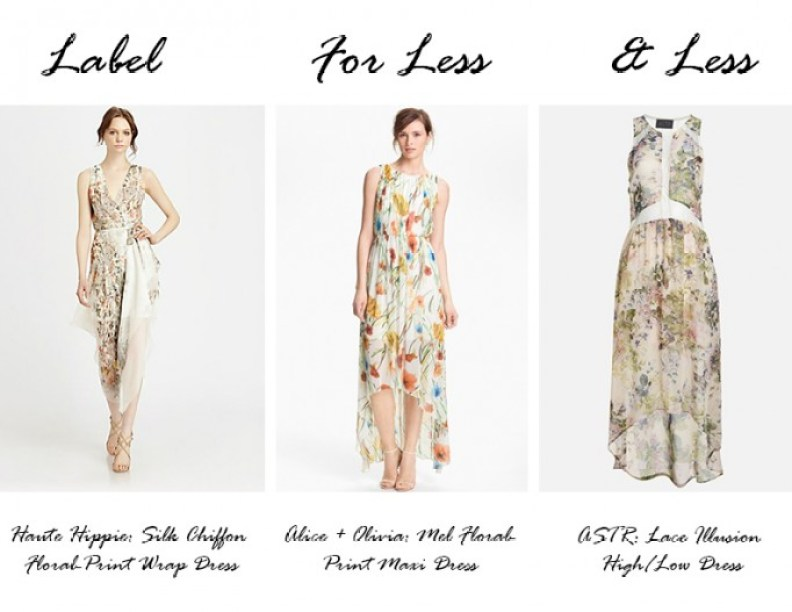 Label for Less_floral maxi