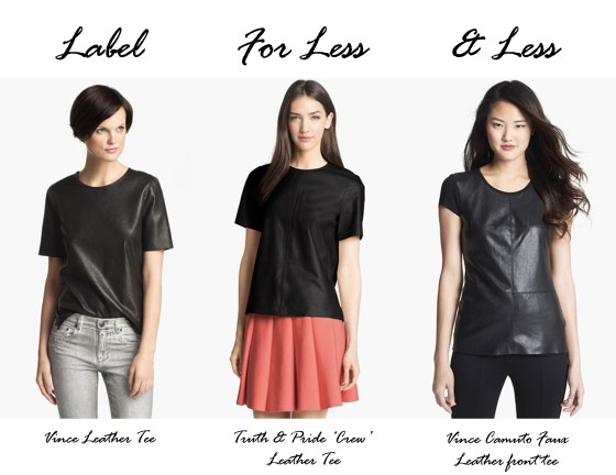 Label For Less_leather top