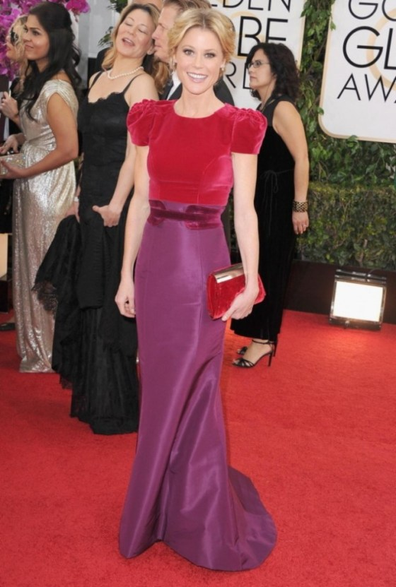 Julie Bowen in Carolina Herrera.