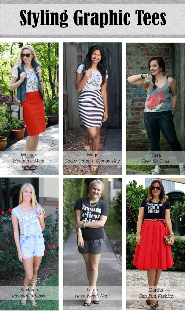 6 Ways to Wear Graphic Tees
