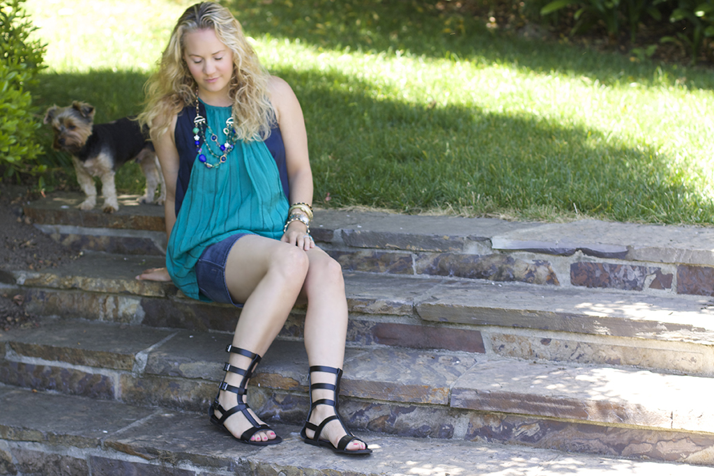 Ocean Blues, Outfit Post, Memorial Day Weekend, Warm Weather Wear