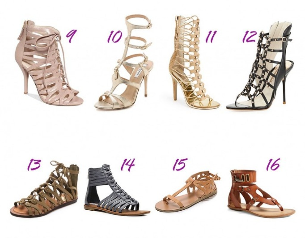 shoe roundup - gladiators 2