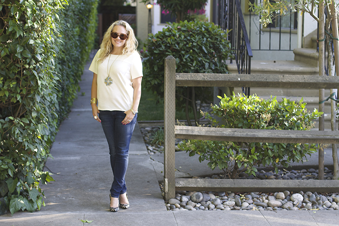 Basic Tee and Skinny Jeans 2