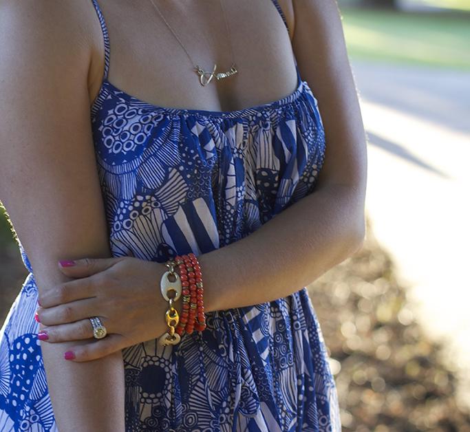 Summer, Maxi dress, summer dress, Banana Republic, Marimekko